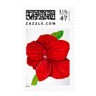Amaryllis Postage Stamp