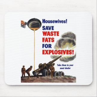 ¡Amas de casa! ¡Ahorre las grasas inútiles para lo Alfombrilla De Ratones