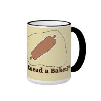 amase una taza linda del panadero