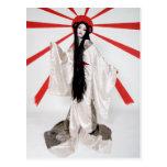 Amaterasu postcard by Cyril Helnwein