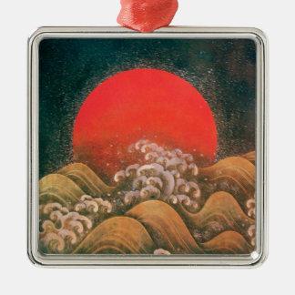 AMATERASU , SUN GODDESS Heart Christmas Tree Ornament