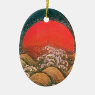 AMATERASU , SUN GODDESS CHRISTMAS TREE ORNAMENTS