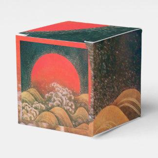 AMATERASU SUN GODDESS Red Black Brown Favor Box