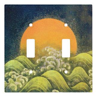 AMATERASU, SUN GODDESS Yellow Black Green Light Switch Cover