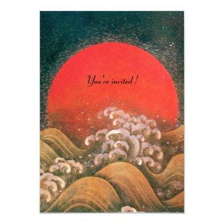 AMATERASU,SUN GODDESS,yellow black red green ice Card