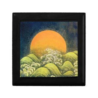 AMATERASU , SUN GODDESS ,yellow green black Gift Box