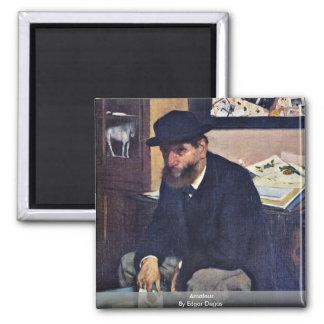 Amateur By Edgar Degas Fridge Magnets