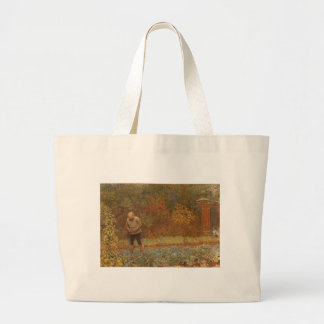 Amateur (Coachman & Cabbages) by Frederick Walker Jumbo Tote Bag