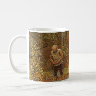 Amateur (Coachman & Cabbages) by Frederick Walker Coffee Mug
