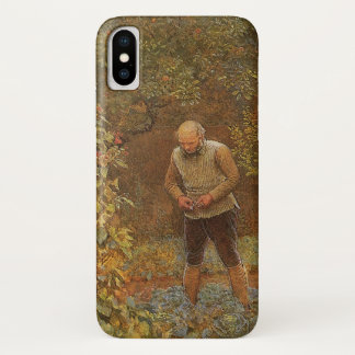Amateur (Coachman & Cabbages) by Frederick Walker iPhone X Case