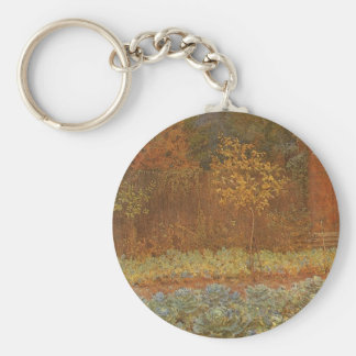 Amateur (Coachman & Cabbages) by Frederick Walker Keychain