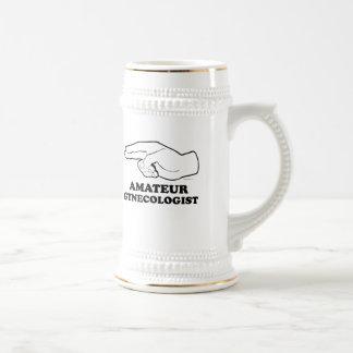 AMATEUR GYNECOLOGIST T-shirt Beer Stein