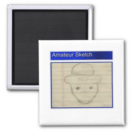 Amateur leprechaun sketch