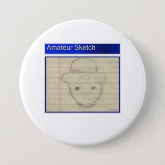 Amateur Leprechaun Sketch Button