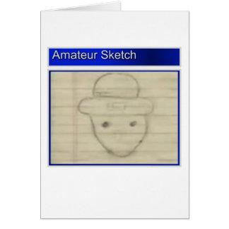 Amateur Leprechaun Sketch Card