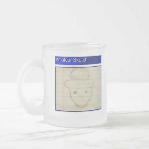 Amateur Leprechaun Sketch Coffee Mug