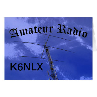 Amateur Radio and Call Sign Card