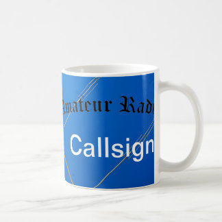 Amateur Radio and Call Sign Coffee Mug
