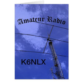Amateur Radio and Call Sign Greeting Cards