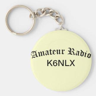 Amateur Radio and Call Sign Keychain