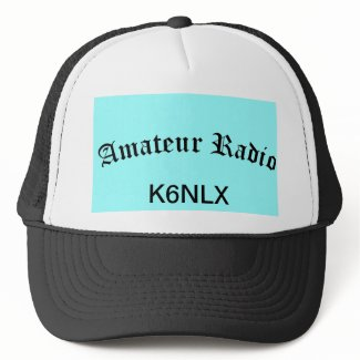 Amateur Radio and Call Sign Trucker Hats