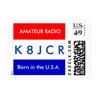 "Amateur Radio ""Born in the U.S.A."" Postage"