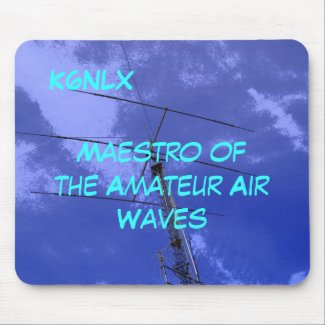 Amateur Radio Call Sign Air Waves Mousepad mousepad