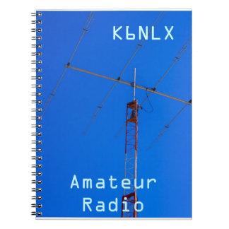 Amateur Radio Call Sign & Beam Notebooks