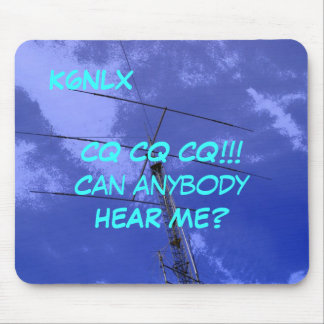 Amateur Radio Call Sign CQ Mousepad