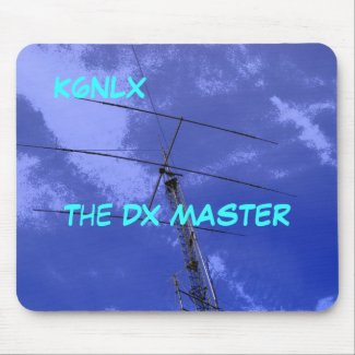 Amateur Radio Call Sign DX Mousepad mousepad