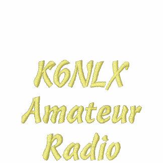 Amateur Radio Call Sign Hoodie