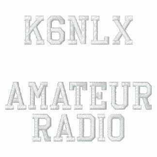 Amateur Radio Call Sign Polo Shirt