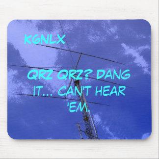 Amateur Radio Call Sign QRZ Mousepad