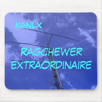 Amateur Radio Call Sign Ragchew Mousepad mousepad
