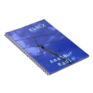 Amateur Radio Call Sign Spiral Note Book