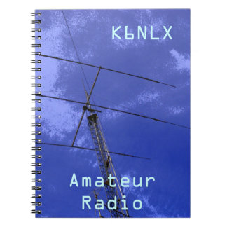 Amateur Radio Call Sign Spiral Notebook