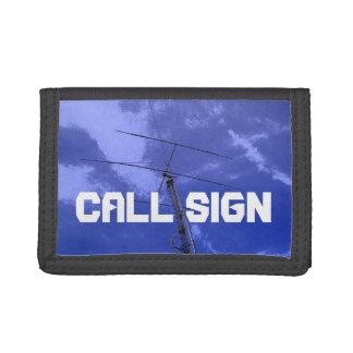 Amateur Radio Callsign 5 Tri-fold Wallets