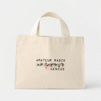 Amateur Radio Genius Canvas Bags
