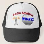 Amateur Radio Hat at Zazzle