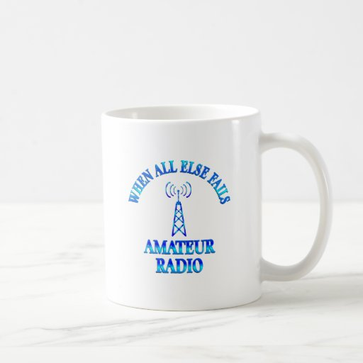 Amateur Radio Helps Coffee Mugs