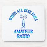 Amateur Radio Helps Mousepad
