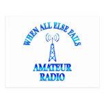 Amateur Radio Helps Post Cards