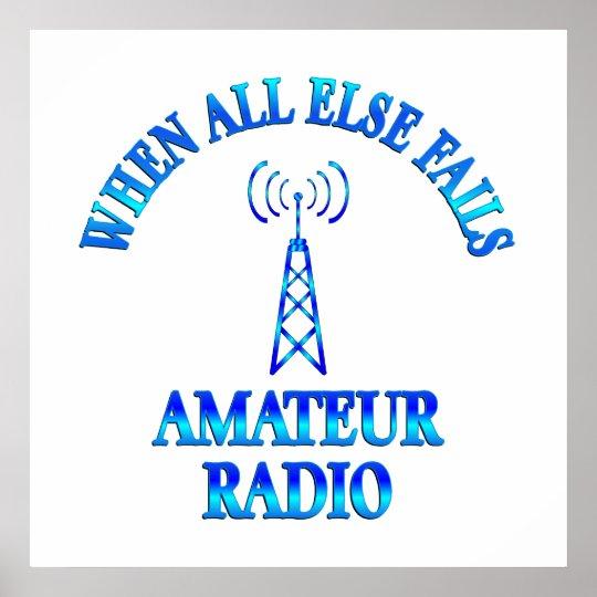 Amateur Radio Helps Poster