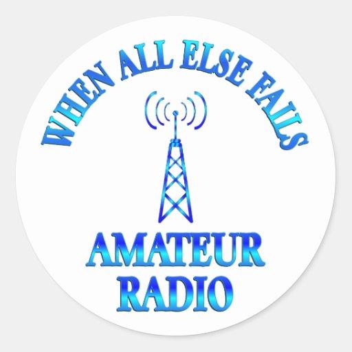 Amateur Radio Helps Stickers