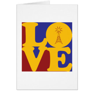 Amateur Radio Love Card