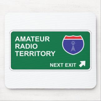 Amateur Radio Next Exit Mouse Pad
