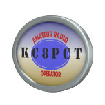 Amateur Radio Operator Belt Buckle at Zazzle