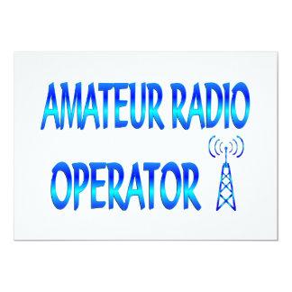 Amateur Radio Operator Card