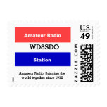 Amateur Radio Postage at Zazzle
