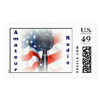 Amateur Radio Postage Stamp